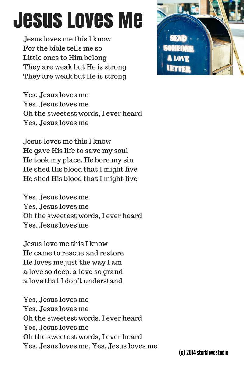 Jesus Loves Me Lyrics